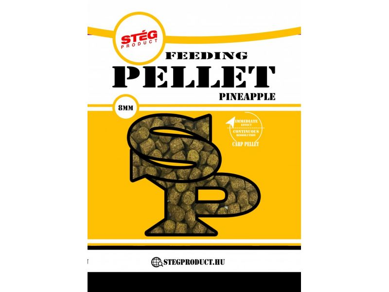 Stég Product Feedeing Pellet 8mm Pineapple 800gr