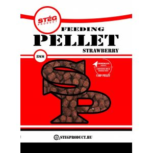 Stég Product Feedeing Pellet 8mm Strawberry 800gr