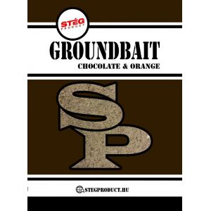 Stég Product Groundbait Chocolate & Orange 1kg