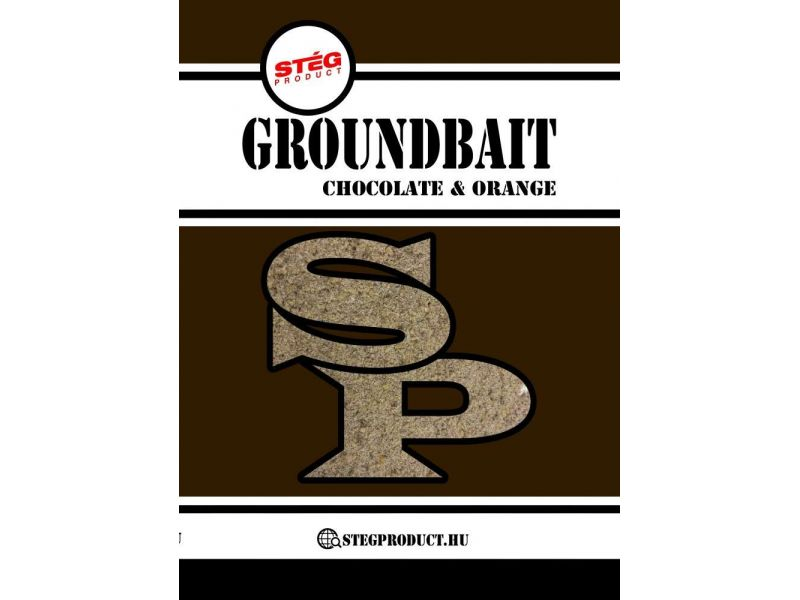 Stég Product Groundbait Chocolate & Orange 1kg