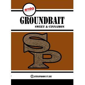 Stég Product Groundbait Sweet & Cinnamon 1kg