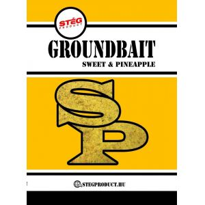 Stég Product Groundbait Sweet & Pineapple 1kg