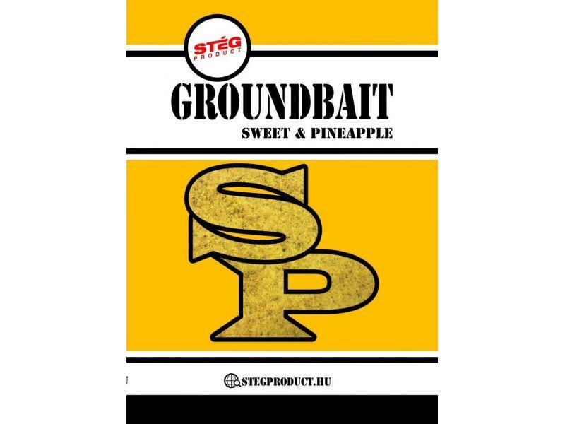 Stég Product Groundbait Sweet & Pineapple 1kg