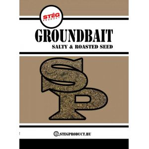 Stég Product Groundbait Salty & Roasted Seed 1kg