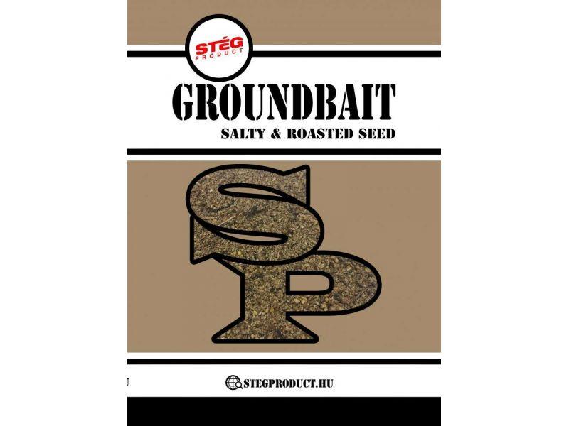 Stég Product Groundbait Salty & Roasted Seed 1kg