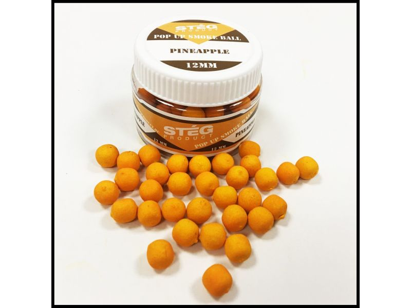 Stég Product Pop Up Smoke Ball 12mm Pineapple 40gr