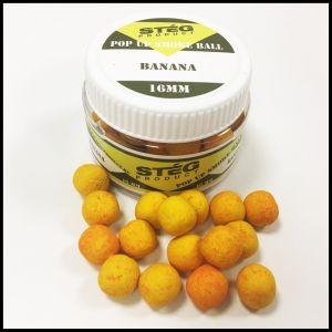 Stég Product Pop Up Smoke Ball 16mm Banana 40gr