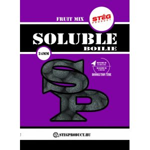 Stég Product Soluble Boilie 24mm Fruit mix 1kg