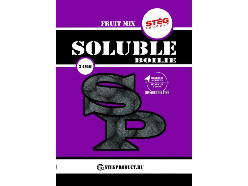 Stég Product Soluble Boilie 24mm Fruit mix 1kg