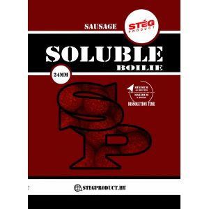 Stég Product Soluble Boilie 24mm Sausage 1kg