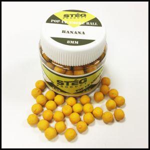 Stég Product Pop Up Smoke Ball 8mm Banana 20gr