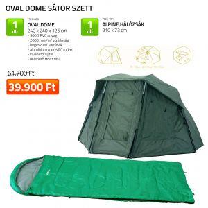 Oval Dome Sátor szett