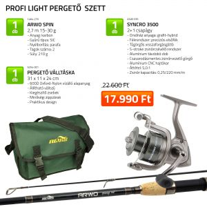 Profi Light pergető szett 1464-270+ 2248-335+ 5254-001 (KB-4