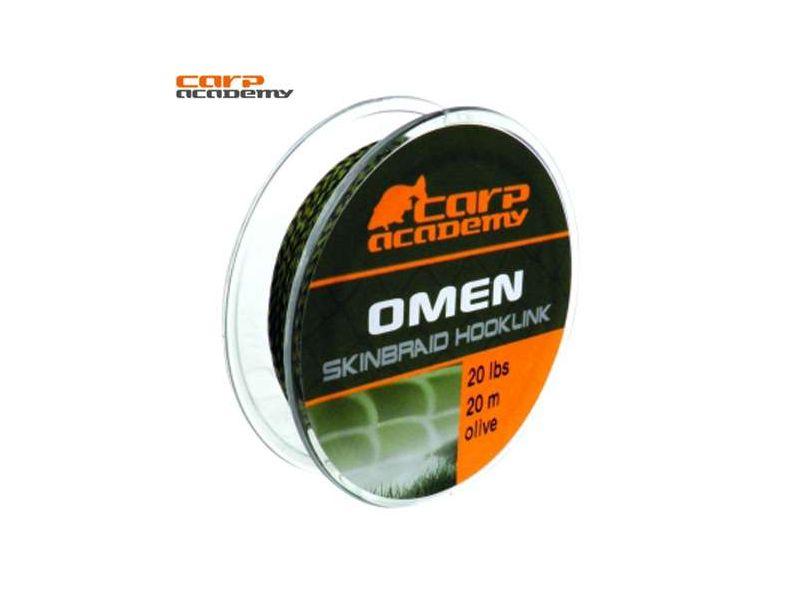Carp Academy Omen Skinbraid 20m - sűllyedő előkezsinór (20lb