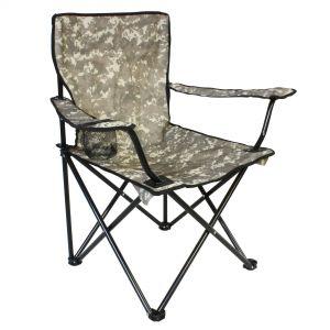 Camou Kemping szék pohártartóval
