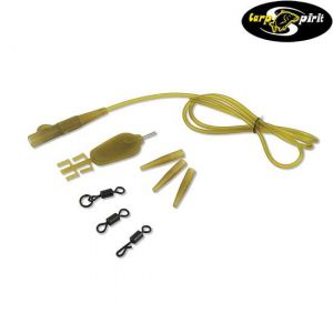 Carp Spirit Anti-Tangle Lead Clip Rig - Gubancgátlós végszer