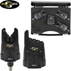 Carp Spirit Classic CSC 3+1 - Elektromos kapásjelző szett