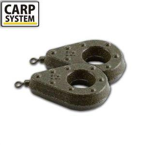 Carp System Extra Heavy forgós ólom 120g - 180g