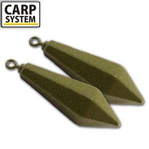 Carp System Long Cast swivel - Távdobó forgós ólom -80g-120g