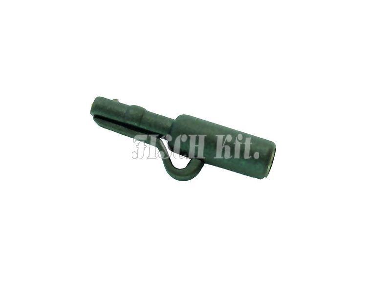 Carp Zoom Biztonsági ólomkapocs, matt zöld, 6db