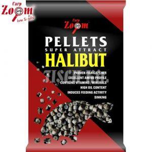 Carp Zoom Fúrt halibut pellet (5-10kg)