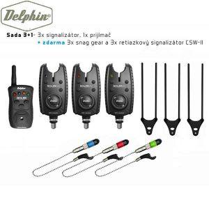 Delphin ROLER 9V + CSWII + SNAG-GEAR Al -szett 3+1