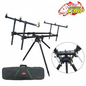 Demon Carp Black Rod-pod - bottartó állvány