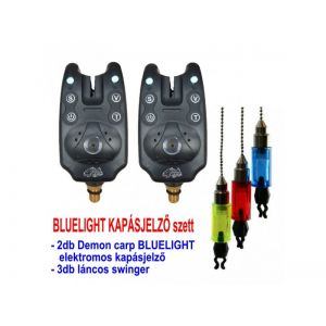 Demon Carp Bluelight Elektromos kapásjelző szett