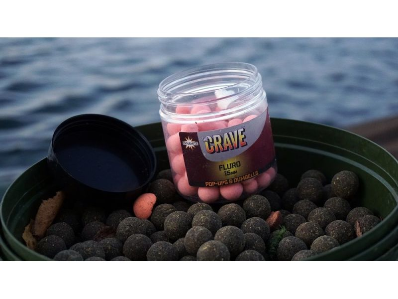 Dynamite Baits The Crave Fluro Pop-Up - 15mm