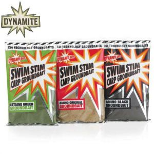Dynamite Baits - Swim Stim Amino Black Groundbait 1kg