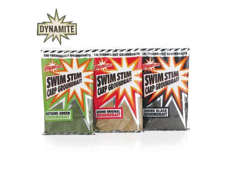 Dynamite Baits - Swim Stim Amino Black Groundbait 1kg