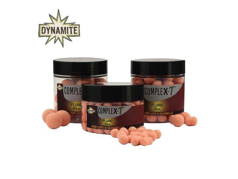 Dynamite Baits Complex-T bojli Fluro Pop-Up - 20mm