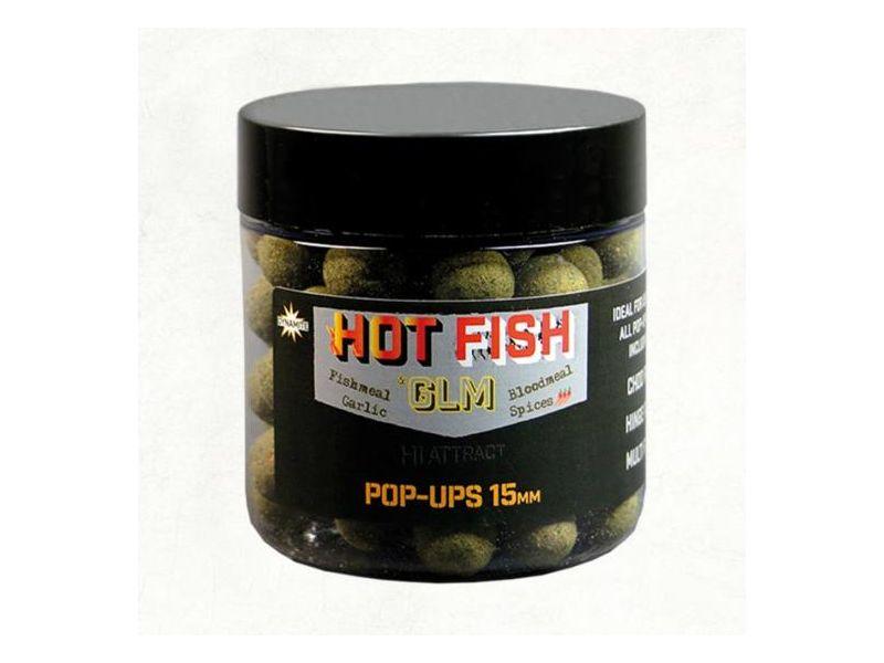 Dynamite Baits Hot Fish & GLM bojli 15mm pop-up