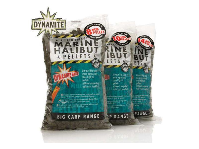 Dynamite Baits Marine Halibut Pelletek 900g