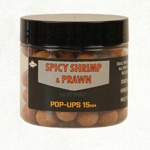 Dynamite Baits Spicy Shrimp and Prawn bojli 15mm pop-up