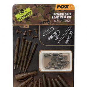 Fox Edges Camo Power Gripo ólomkapcsos szerelék 7-es forgóva