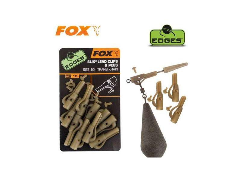 Fox Edges Biztonsági Ólomkapocs és Csapszeg