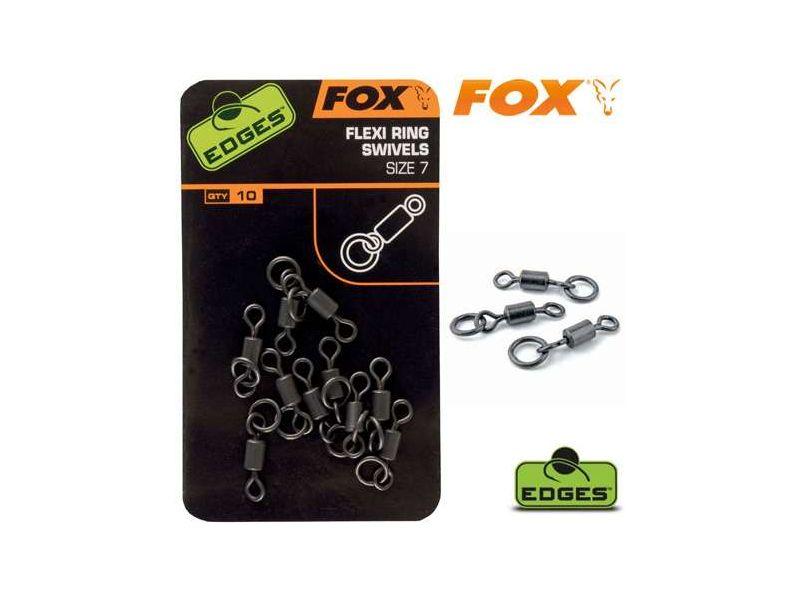 Fox Edges Flexi Ring Swivel - Karikás Forgó