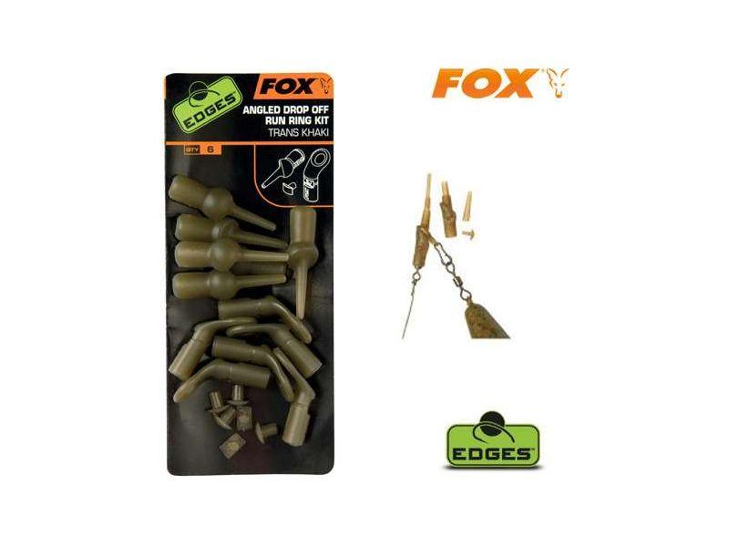 Fox Edges Angled Drop Off Run Ring Kit - Ferdített ólomelhag