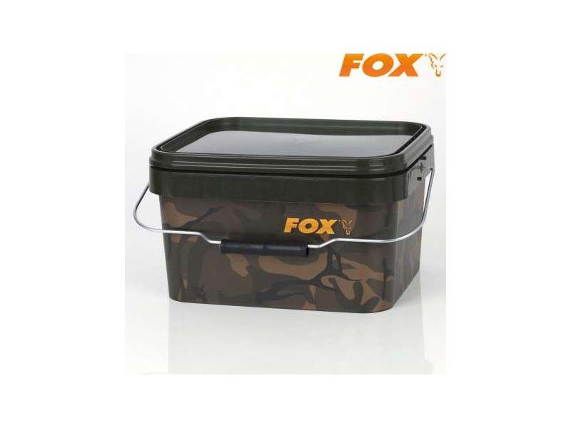 Fox Camo Square Bucket 5L - csalis vödör