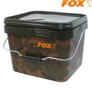 Fox Camo Square Bucket 10L - csalis vödör