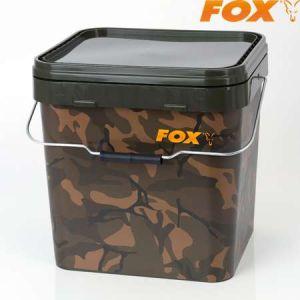 Fox Camo Square Bucket 17L - csalis vödör