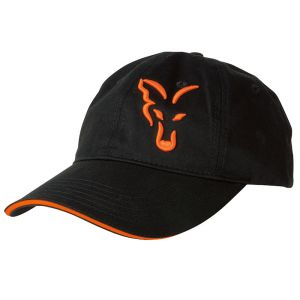 Fox Black/Orange Baseball Cap - sapka
