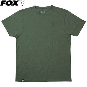 Fox Chunk Heather Classic T-Shirt - zöld környakú póló