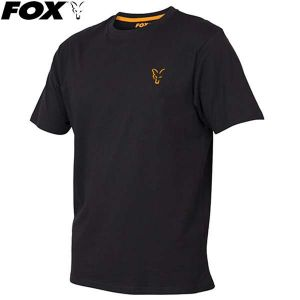 Fox Collection Orange & Black T-shirt rövidujjú póló