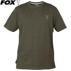 Fox Collection Green & Silver T-Shirt - zöld környakú pó