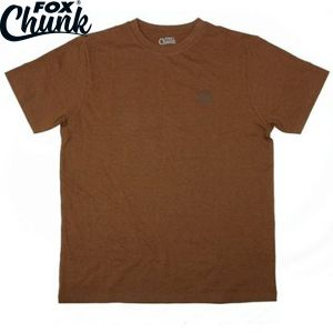 Fox Chunk Classic Orange Marl T shirt - környakú póló