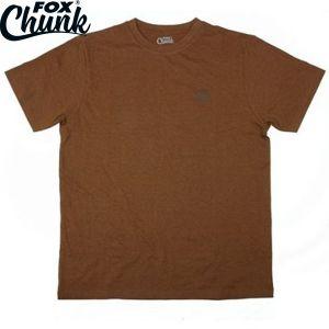 Fox Chunk Classic Orange Marl T shirt - környakú póló