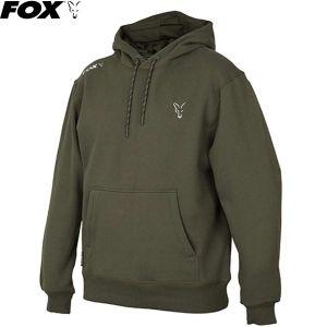Fox Collection Green & Silver Hoodie Kapucnis felső