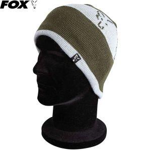 Fox Green / Silver Beanie kötött sapka